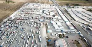 Avrupa yolunda 5 bin dolayında TIR aracı bekliyor!