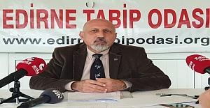 Edirne'de vaka sayısı yüzde 15.5 artmış…