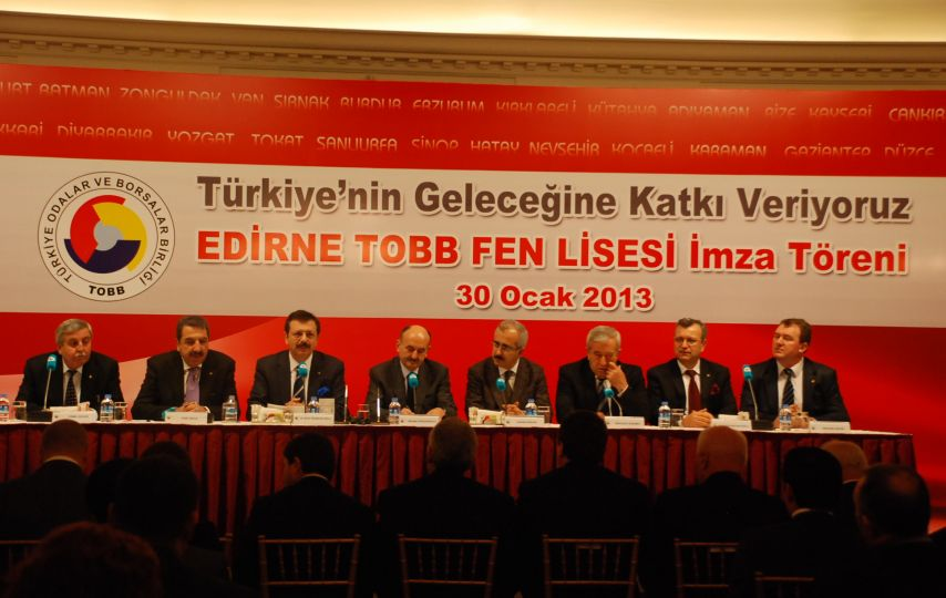 TOBB'un yeni kompleksi Edirne'ye!